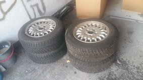 ORIGINAL  BMW WHEELS WITH WINTER TIRES in Ramstein, Germany