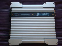 Zed Audio Minilith Car Amplifier in Okinawa, Japan