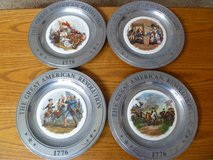 Great American Revolution Set of 4 Plates in Chicago, Illinois