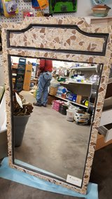 Tiled mirror in Alamogordo, New Mexico