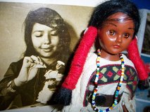 Vintage Sioux Indian Doll -  Girl with Papoose in Kissimmee, Florida