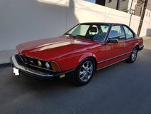 1985 BMW 6-Series 635CSi in Sacramento, California