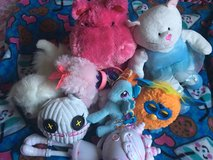 Variety of stuffed animals and a furby in Fairfield, California