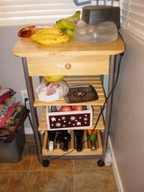 kitchen island / wine rack on wheels in Colorado Springs, Colorado