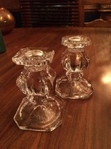 Gorham Lead Crystal Candlestick holders in Lockport, Illinois