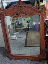 very large hand carved intricate mirror in Fort Carson, Colorado