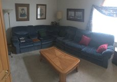 Large couch with sleeper sofa in Joliet, Illinois