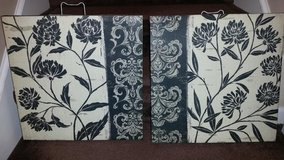New / Abstract Floral 2 Piece Picture Set in Fort Campbell, Kentucky