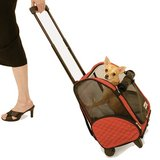 Snoozer 4-n-1 Wheel Around Travel Pet Carrier in Aurora, Illinois