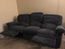 Couch with recliners in Barstow, California