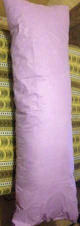 "NEW: BOLSTER PILLOW / CUDDLE CUSHION 55"" LONG - 4' 6"" & NEW COVER in Lakenheath, UK"