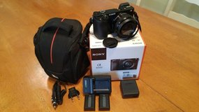Sony - Alpha a6000 Mirrorless Camera with 16-50mm Lens + Extras in Lockport, Illinois