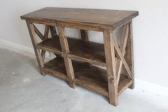 Rustic Console Table in Lackland AFB, Texas