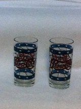 Set of 10 Stained Glass Pepsi Glasses in Oceanside, California