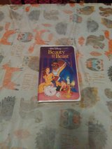 Classic beauty and the beast vhs in Camp Lejeune, North Carolina