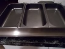 3 section electric buffet server in Lackland AFB, Texas