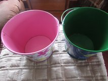 2 metal pails in Chicago, Illinois