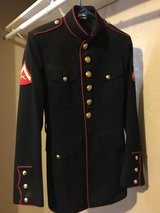 REDUCED-USMC Dress Blues Jacket 36L in Yucca Valley, California