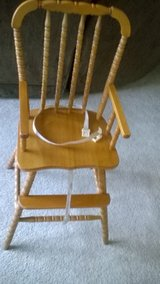 High chair in Fort Riley, Kansas
