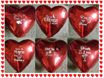 Personalized Valentine's Balloons in Conroe, Texas