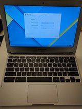 Samsung Chromebook w/dual voltage power adapter in Ramstein, Germany