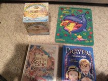 bible and prayer books and Noah's ark and Jonah and the wale puzzle in Joliet, Illinois