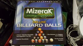 Brand new set of Pool Balls in Fort Campbell, Kentucky