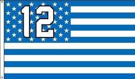 *** 12TH MAN 3'x5' FLAG / BANNER (NEW) *** (5 Different Styles)*** NEW in Fort Lewis, Washington