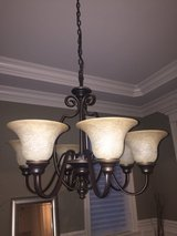 Oil Rubbed Bronze Dining Fixture in Bolingbrook, Illinois