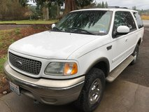 '02 Ford Expedition in Fort Lewis, Washington