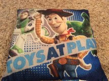 Toy Story pillow in Fort Campbell, Kentucky