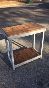 Rustic kitchen island or end table for sale in Fort Benning, Georgia
