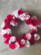 Rose Wreath with cloth hanger in Kingwood, Texas