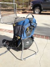 child carrier in Yucca Valley, California