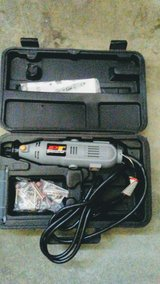 43 piece brand new rotary tool set & 2 electric sanders w extras in 29 Palms, California