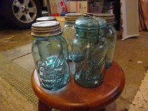 Vintage Ball Jars with Zinc/glass Lids in Chicago, Illinois