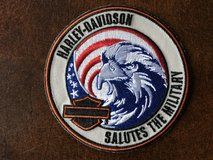 HARLEY DAVIDSON / MILITARY PATCH in Leesville, Louisiana