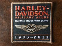HARLEY DAVIDSON (110TH ANNIVERSARY) PATCH in Fort Polk, Louisiana