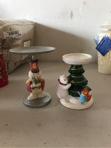 2 Christmas candle stands in Kingwood, Texas