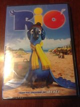 New Rio DVD plastic wrap intact in Fort Riley, Kansas