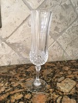 12 Longchamps crytal champagne glasses in Kingwood, Texas