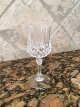 6 small cordial crystal glasses in Kingwood, Texas