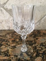 12 Large Longchamps crystal goblets in Kingwood, Texas