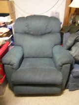 blue recliner in Fort Knox, Kentucky