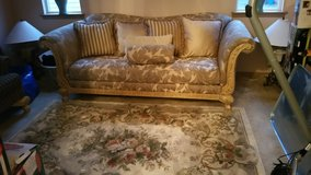 Sofa and accent pillows in Fort Lewis, Washington