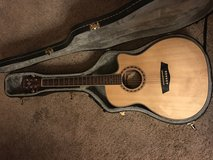 Washburn guitar with case in Oceanside, California