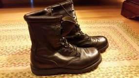 Leather Army Work Boots in Quantico, Virginia