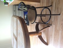 Dining table and chairs in Joliet, Illinois