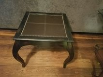 End Table Leather Top in Camp Pendleton, California