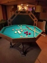 Bumper pool & poker table in Bolingbrook, Illinois